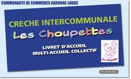 ACTU_CHOUPETTE, creche intercommunale