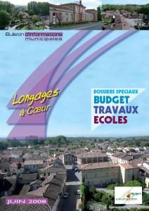Bulletin municipal de Longages 2008