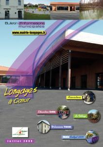 Bulletin municipal de Longages 2009