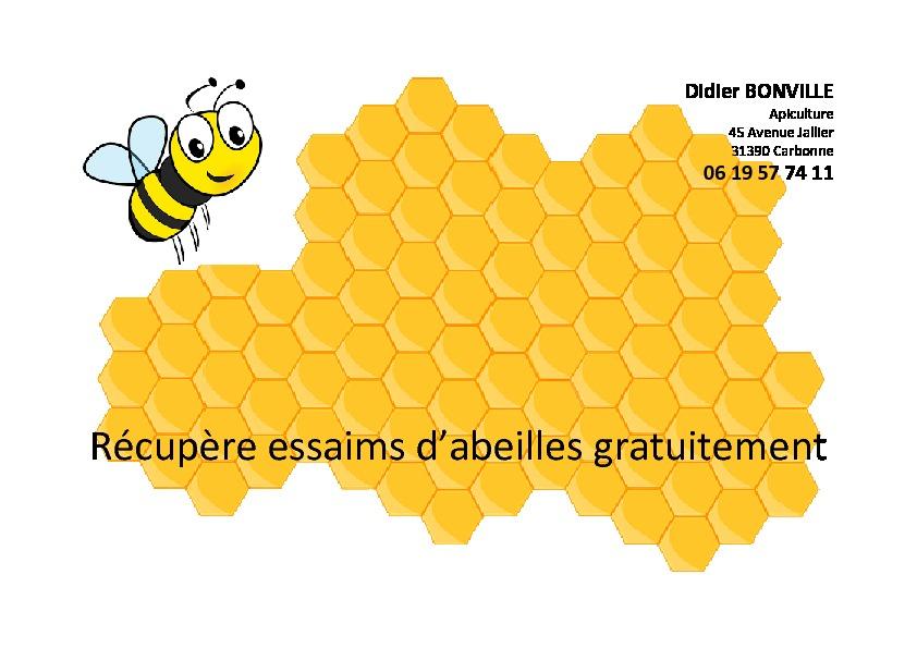 Affiche cueilleur d'abeilles-thumbnail