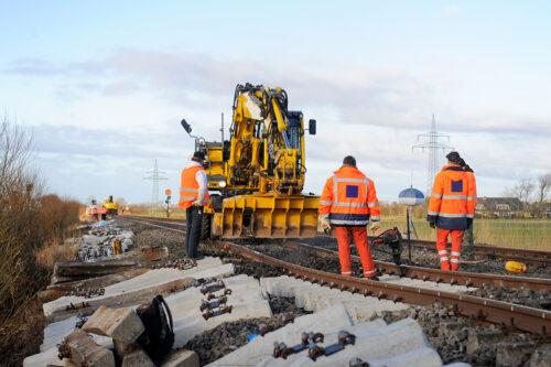 Travaux sur voie ferrée - Illustration ©adobe Stock 46843443